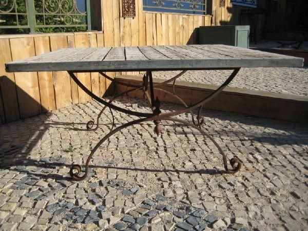 Table rabattable cuisine paris interior meuble for Table jardin fer forge occasion