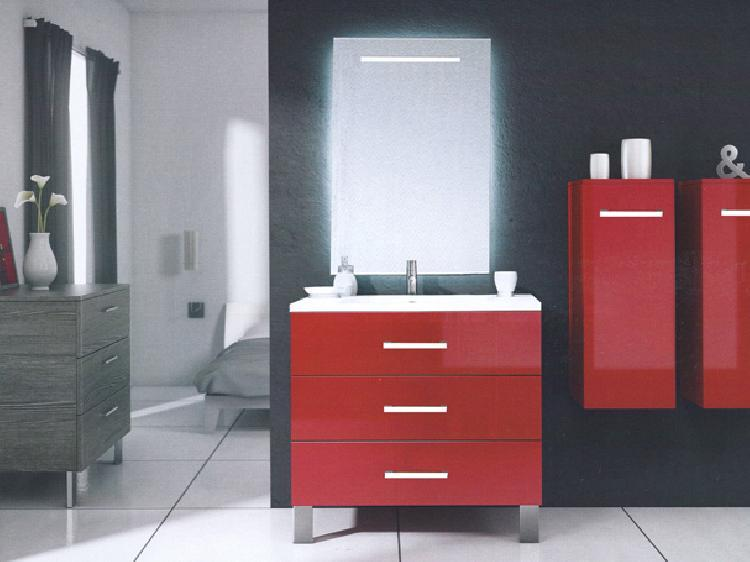 hauteur meuble salle de bain sur pied