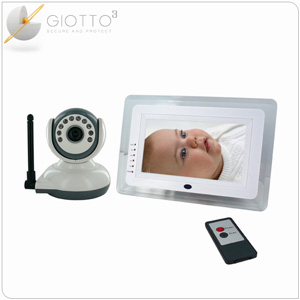 surveillance bebe video babyphone video ecran 7. Black Bedroom Furniture Sets. Home Design Ideas