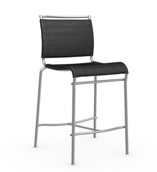 Calligaris chaise de bar italienne air structure acier for Chaise italienne