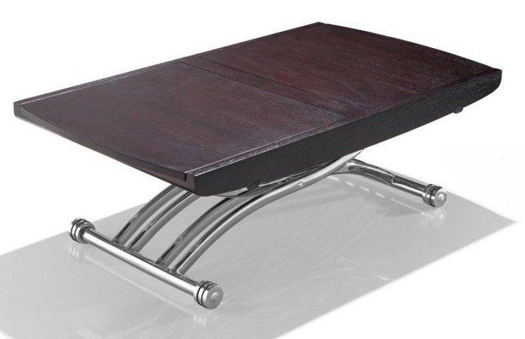 Repas Extensible Table Basse En 10 Relevable Wood Couverts Lift PiZukX