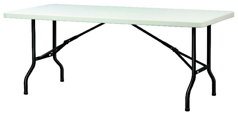 table polypro 183x76 cm. Black Bedroom Furniture Sets. Home Design Ideas