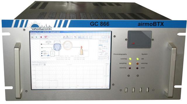 Analyseur de benzene par chromatographie en phase gazeuse par détecteur fid
