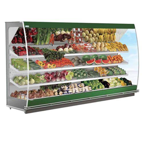 Gondole murale refrigeree pour fruits et legumes vitrine - Temperature chambre froide fruits et legumes ...