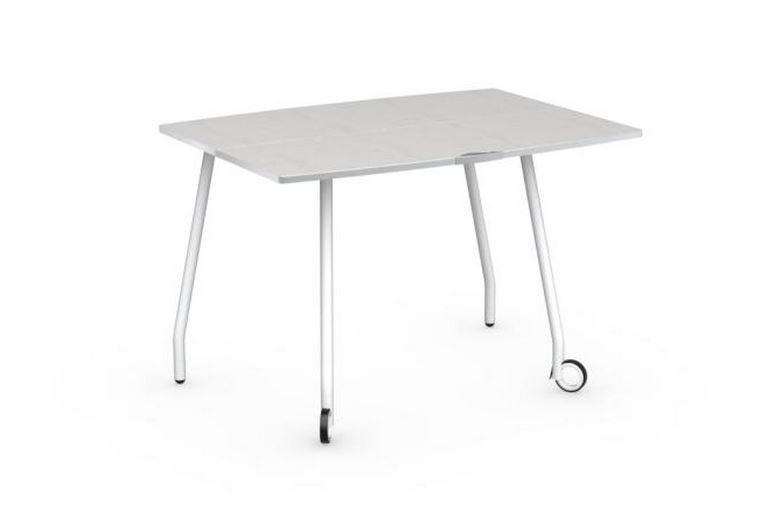 Tables pliables comparez les prix pour professionnels - Petite table a roulette ...