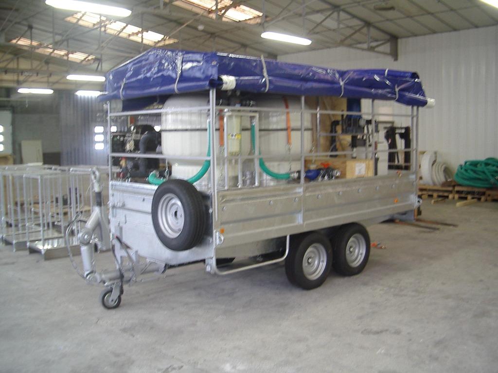 Unité mobile urgence humanitaire