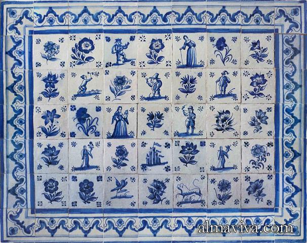 Revetements muraux en faience tous les fournisseurs for Carrelage mural azulejos