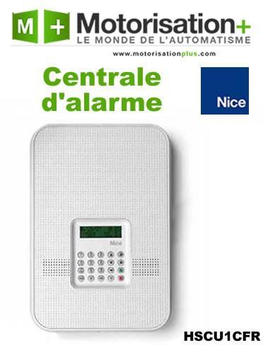 alarme maison centrale d 39 alarme double fr quence sans fil nice hscu1gfr comparer les prix de. Black Bedroom Furniture Sets. Home Design Ideas