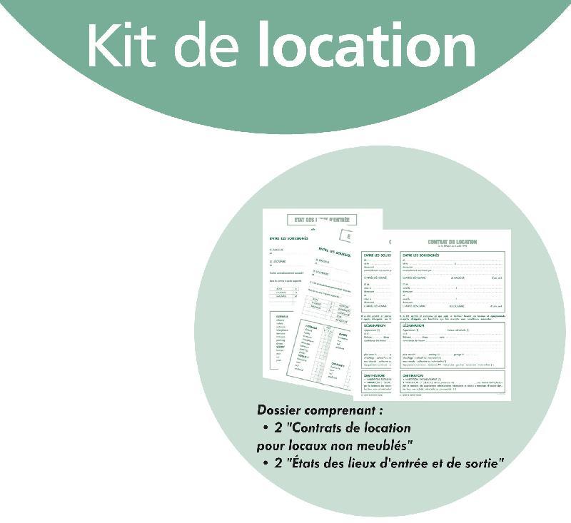Contrat de location exacompta kit dossier de location - Formulaire poi loueur meuble non professionnel ...