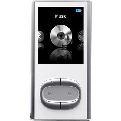 LECTEUR MP3 MPMAN BT17 4 GO BLANC, GRIS BLUETOOTH®, PODOMÈTR