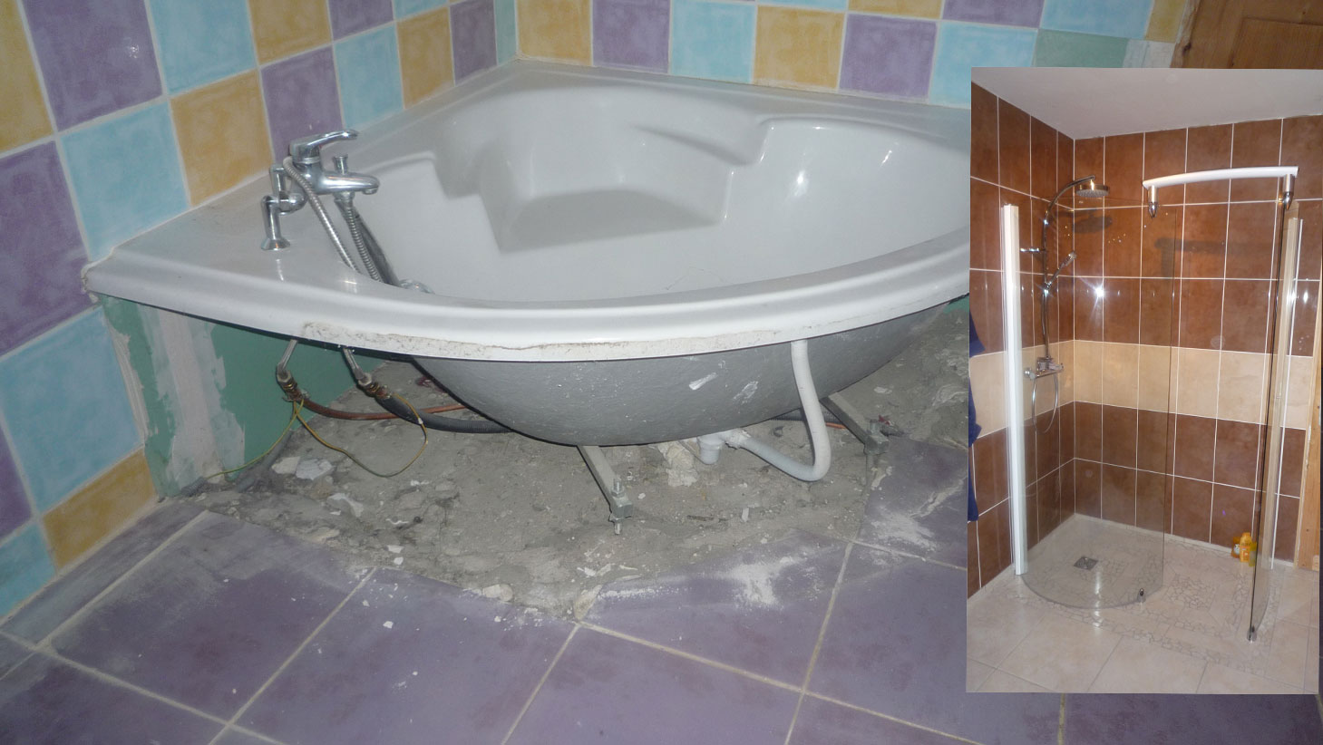Renovation salle de bain for Decoration sal de bain