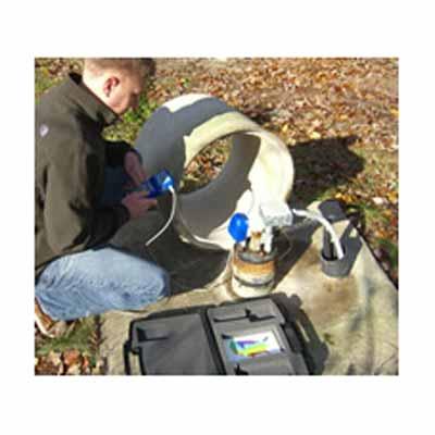 sonde acoustique portable de niveau d eau pour forage well sounder 2010 pro. Black Bedroom Furniture Sets. Home Design Ideas