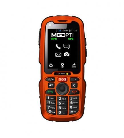 TÉLÉPHONE GSM MGEX320.1-PTI ATEX ZONE 1/21