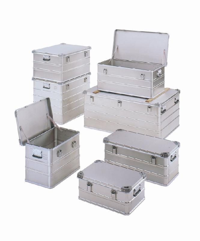 Malles et coffres de rangement en aluminium tous les for Canisse sur mesure