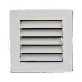 grille ventilation pvc sortie d 39 air a volets mobiles. Black Bedroom Furniture Sets. Home Design Ideas