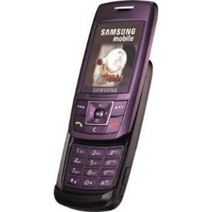 telephone mobile a glissiere samsung e250 purple. Black Bedroom Furniture Sets. Home Design Ideas
