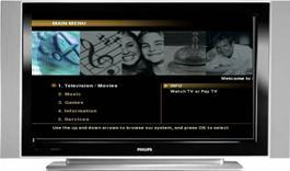 Tv interactive eclipse mmc multimédia channel