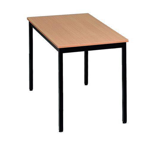 table polyvalente manutan largeur 120 cm comparer les prix de table polyvalente manutan. Black Bedroom Furniture Sets. Home Design Ideas