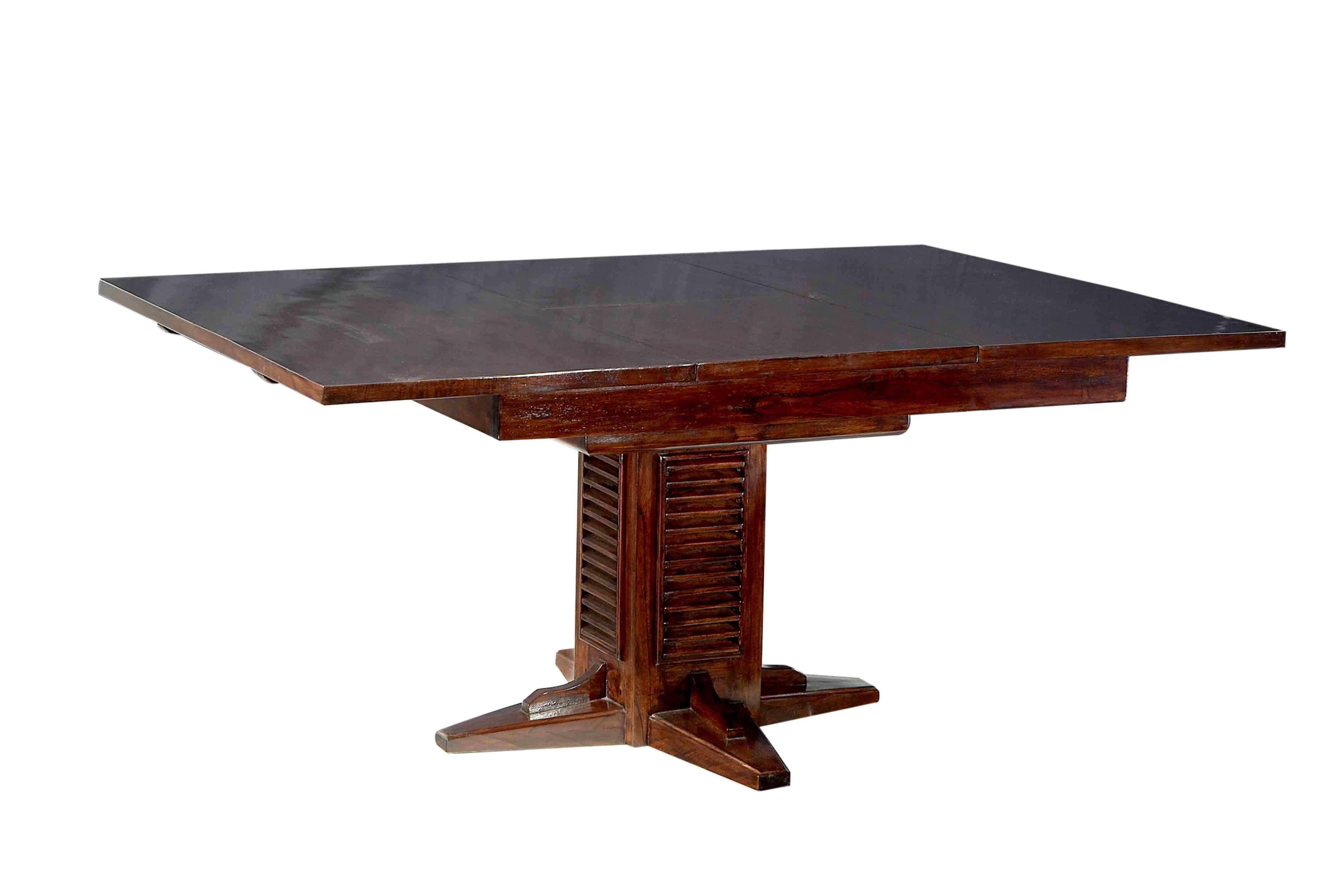 Table extensible carree for Table salle manger habitat