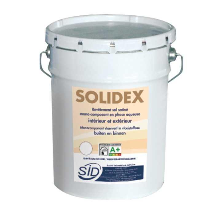 Revêtement sol satiné intérieur et extérieur mono-composant en phase aqueuse solidex