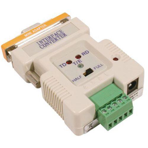 CONVERTISSEUR RS-232 RS-422/485 SMART ET EN MODE DCE