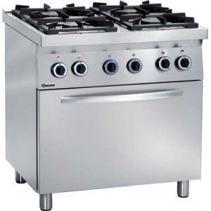 Cuisini re lectrique pour professionnels comparez les - Cuisiniere 3 feux four electrique ...
