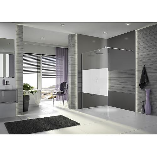 paroi de douche l 39 italienne open 2 verre s rigraphi 100 cm leda comparer les prix de. Black Bedroom Furniture Sets. Home Design Ideas