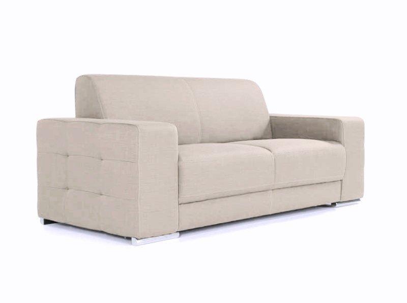 canape fixe raul pietement metal chrome design microfibre. Black Bedroom Furniture Sets. Home Design Ideas
