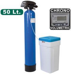 Adoucisseur d\'eau chrono-volumétrique 50 litres adoucisseur d'eau softener plus - add-50/dl-2