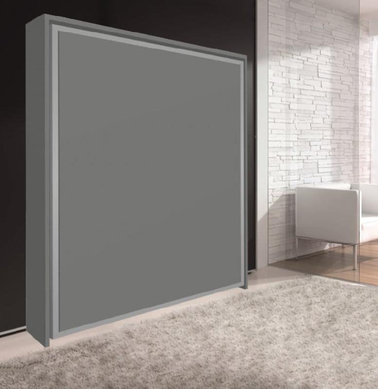 armoire lit escamotable cronos couchage 160 190cm. Black Bedroom Furniture Sets. Home Design Ideas