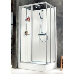 cabine de douche rectangle city leda comparer les prix de. Black Bedroom Furniture Sets. Home Design Ideas