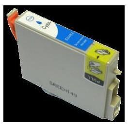 CARTOUCHE JET D'ENCRE COMPATIBLE EPSON STYLUS R200/R300/R300M/RX500 (T0482) PUCE CYAN 20ML 00790C
