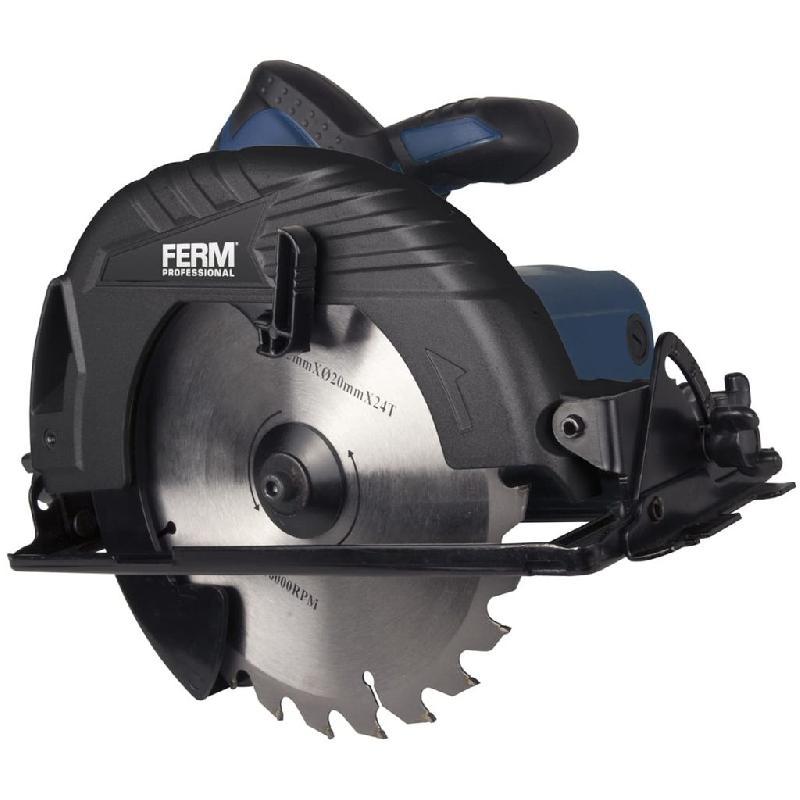 Ferm professional scie circulaire 1050 w 190 mm csm1041p