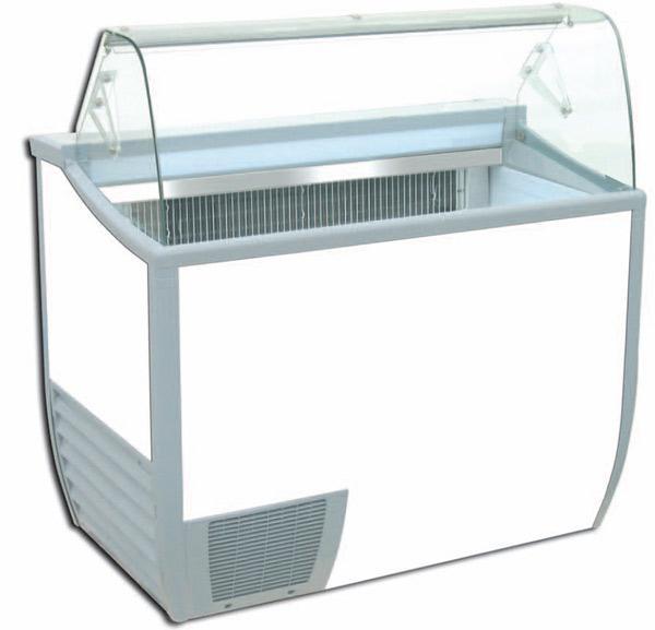 Comptoir réfrigéré  à glaces (froid statique) fenice  118