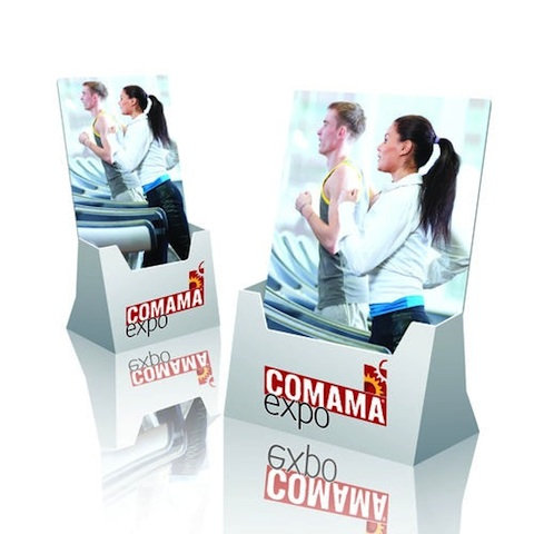 presentoir carton distributeur de flyers a4. Black Bedroom Furniture Sets. Home Design Ideas