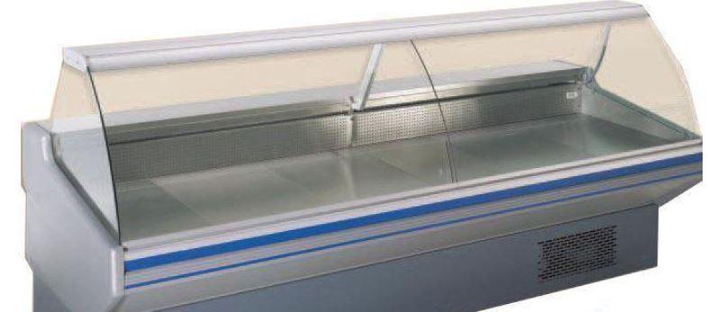 vitrine refrigeree vitre courbe statique vitrine. Black Bedroom Furniture Sets. Home Design Ideas