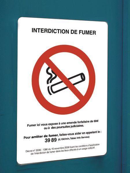 affiche officielle interdiction de fumer comparer les prix. Black Bedroom Furniture Sets. Home Design Ideas