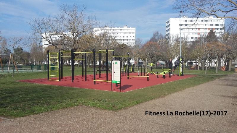 Equipements de fitness d'extérieur