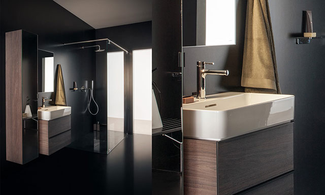 salle de bain equipee collection val de laufen. Black Bedroom Furniture Sets. Home Design Ideas