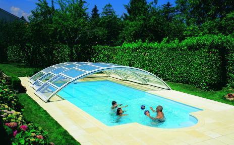 Abris de piscines tous les fournisseurs abri de - Abri de piscine desjoyaux ...