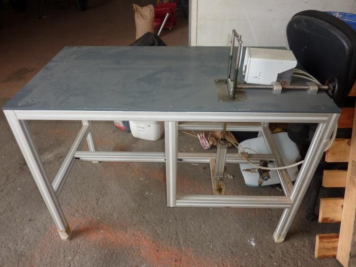 Table de coupe pneumatique d'occasion