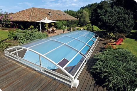 Abris de piscines tous les fournisseurs abri de for Protection piscine