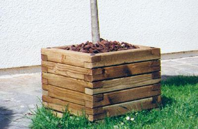 jardiniere en bois bac perigueux. Black Bedroom Furniture Sets. Home Design Ideas