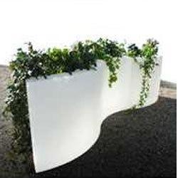 muret separateur ondo h 1150 mm bac hauteur 32 cm comparer les prix de muret separateur ondo h. Black Bedroom Furniture Sets. Home Design Ideas