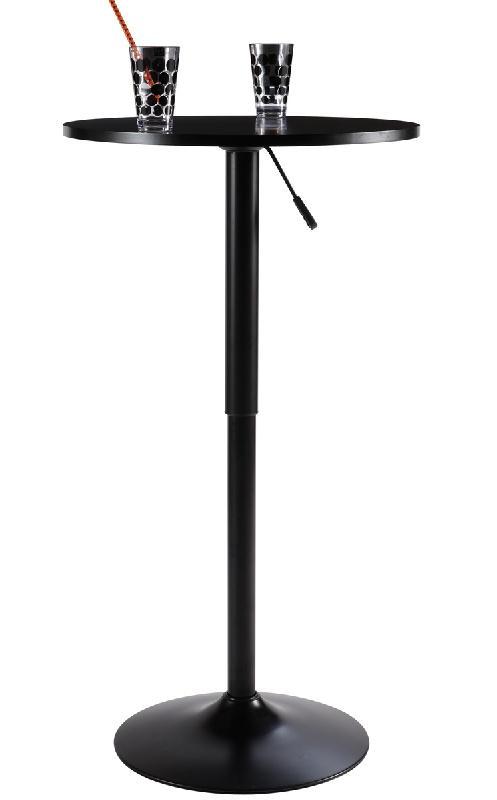 Table haute de bar comparez les prix pour professionnels for Table de bar noir
