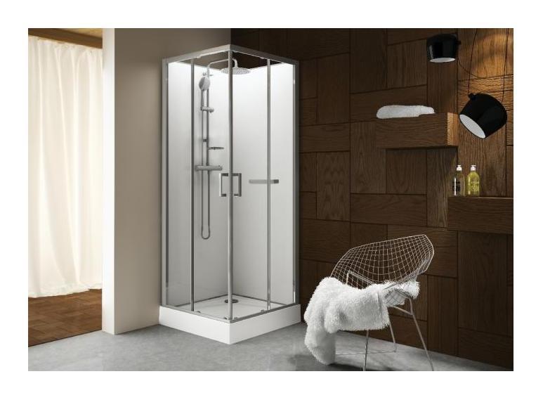 cabine de douche carrue portes coulissantes granitues 90. Black Bedroom Furniture Sets. Home Design Ideas