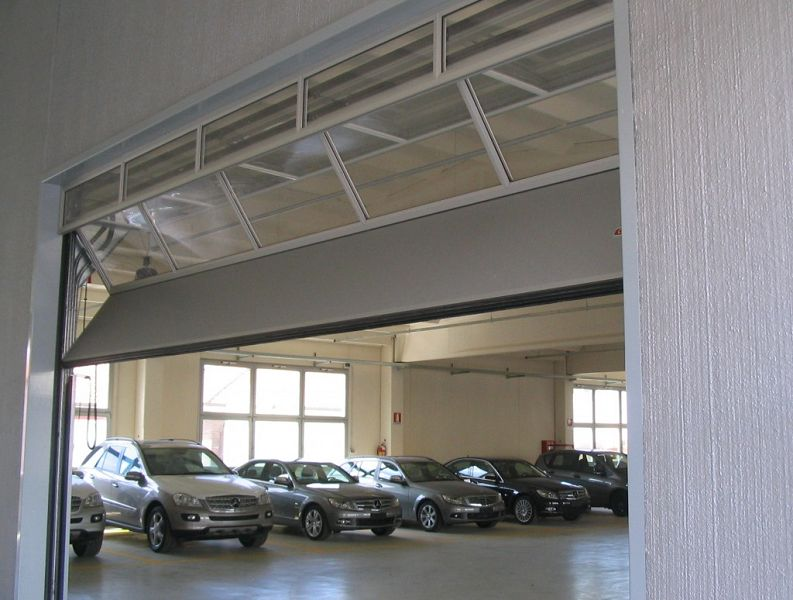 Fms fabrication mecanique de securite produits portes - Porte de garage industrielle occasion ...