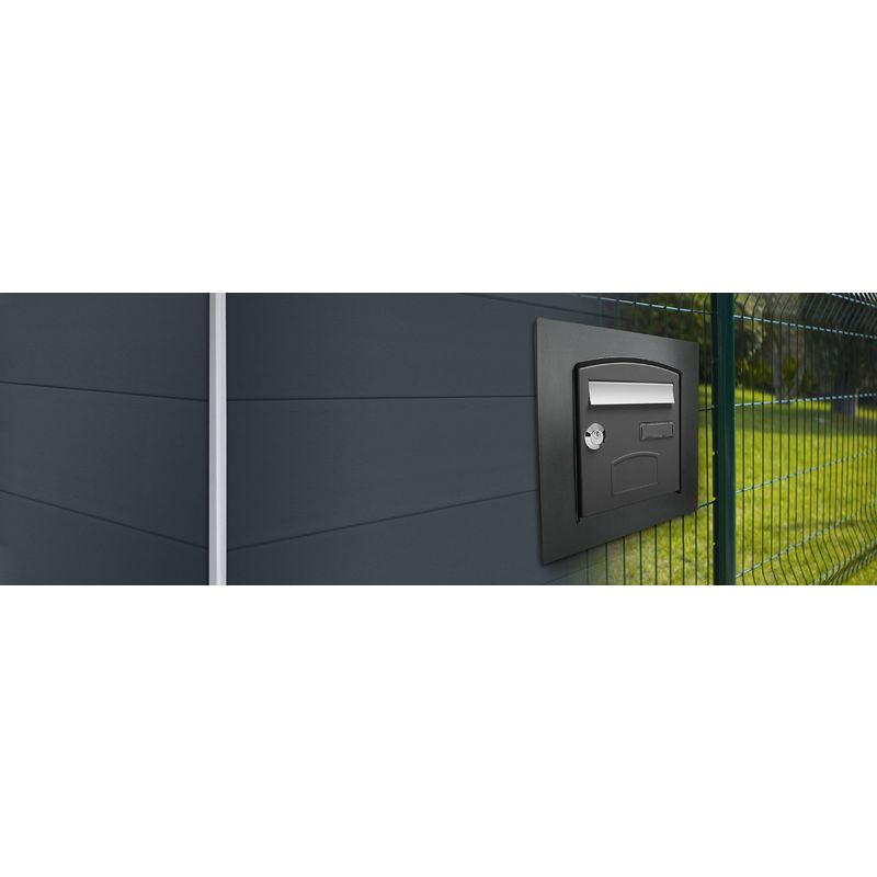 cadre d 39 encastrement profil pour dome gris 7016 decayeux comparer les prix de cadre d. Black Bedroom Furniture Sets. Home Design Ideas