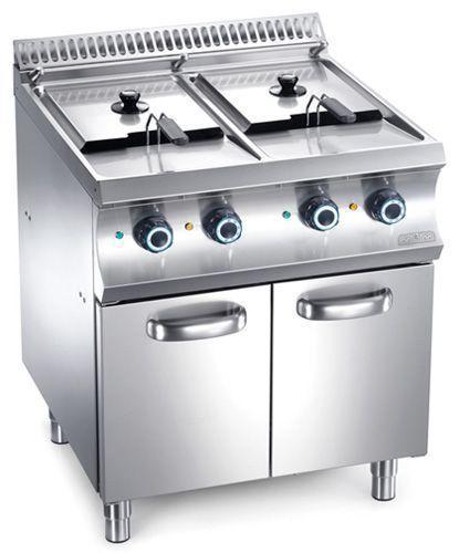 Friteuse mbm sur coffre electrique ou gaz friteuse for Cuisine gaz ou electrique