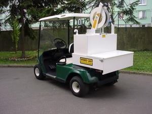 voiturette electrique avec nettoyeur hp voiturette de golf electrique. Black Bedroom Furniture Sets. Home Design Ideas